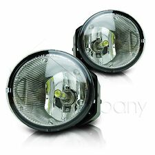 For Frontier Xterra Sentra Maxima Fog Light w/Wiring & COB LED Bulbs - Clear