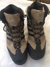 Adidas Women's Size 8 GEOFIT Hiking Boots Tan Black Trail Outdoors Walking