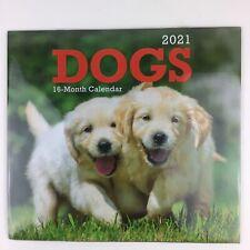 2021 Wall Calendar DOGS & PUPPIES 16 Month Calendar 11
