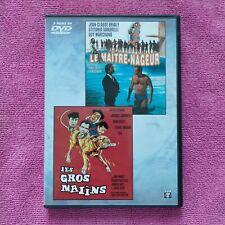 dvd 2 film Les Gros Malins et Le Maître-nageur