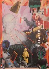 Original Plakat - Internat. Juni-Festwoche - Theater aus der UDSSR