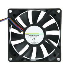 12V 0.3A 8cm Heat Sink Cooling Fan 4Pin Cooler for Computer Case Power Supply