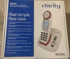 Clarity XLC3.4+ Severe Hearing Loss Cordless Phone