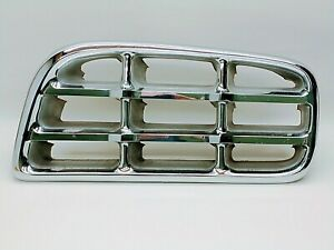 Vintage 1955 1956 Chrysler 300 Imperial Chrome Grill Grille Drivers Side