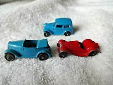 A Lot of 3 Pre war dinky toy cars MG Austin ? great condition