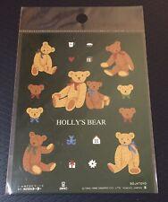 Vintage Sanrio Holly's Bear Stickers (1996)