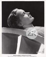 FRANCES FARMER Paramount Actress Portrait Hollywood Profil Photo 1937