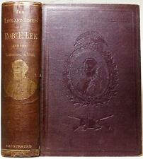 1870 1stED Early Life Campaigns and Public Services of Robert E Lee Civil War