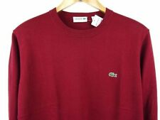 Lacoste Cotton Crew Neck Jumpers & Cardigans for Men