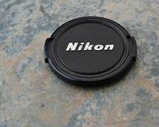 Retro Genuine Nikon NIKKOR 52mm Snap-on Front Lens Cap Japan (#1553)