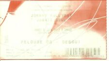 RARE / TICKET BILLET CONCERT - JOHNNY HALLYDAY : LIVE A SOCHAUX ( FRANCE ) 2012