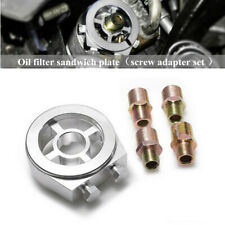 Oil Cooler Filter Sandwich Plate Adapter Part AN10 M20x1.5/22/1.5/M18x1.5/3/4-16