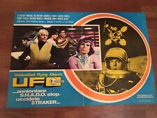 FOTOBUSTA,UFO Annientare SHADO,Uccidete Straker...1974,People Under the Stairs