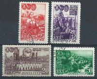 Russia 1948 Sc# 1289/94  Komsomol  NH CTO
