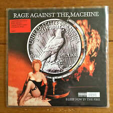 "Rage Against The Machine - Sleep Now In The Fire 7"" Red Vinyl"