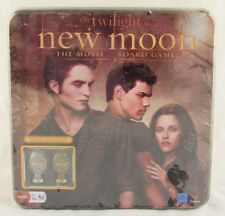 The Twilight Saga New Moon Board Game with Cullen Crest Pieces, Sealed in Tin