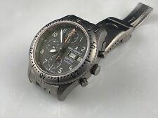 Revue Thommen Airspeed Titanium Chronograph Watch RARE Version Lemania 5100