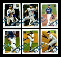 2021 Topps Series 1 - LOS ANGELES DODGERS Team Set 20 cards