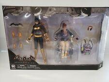 DC Collectibles Batman Arkham Knight Batgirl Oracle Action Figures Set