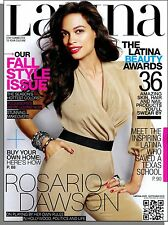 Latina - 2012, September - Rosario Dawson, Fall Style, The Latina Beauty Awards