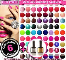 Choose ANY 6x Bluesky SoakOff UV Gel Polish + Top&Base-needs nail lamp to cure