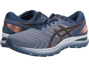 ASICS Gel-Nimbus 22 Running Shoes, Men's Size 12 Extra Wide(4E) GlacierGrey NEW!