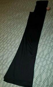 NWT! Bally Total Fitness~sz Small, S. High Waist Yoga Pants.Wide Band. Black