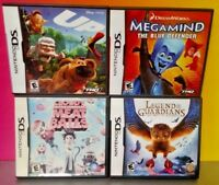 Disney Game Lot Legend Penguin Megamind Meatballs  - Nintendo DS DS Lite 3DS 2DS