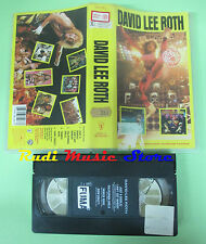 VHS DAVID LEE ROTH VAN HALEN 1986 STEVE VAI WARNER 938126-3 no cd mc dvd lp(VM5)