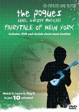 10 Minute Teacher Uke The Pogues Fairytale Of New York Learn Play Ukulele DVD