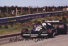 Arturo Merzario HAND SIGNED PHOTO 12x8.