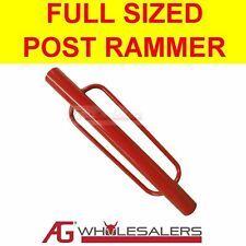 POST RAMMER DRIVER STEEL STAR PICKET FENCE ELECTRIC