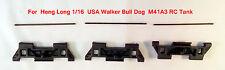 Heng Long tank track parts and 3 metal pins for 1/16 USA walker bull dog UK