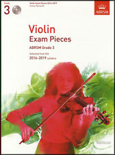 Violin Exam Pieces 2016-2019 ABRSM Grade 3 Score Part & CD Sheet Music Book