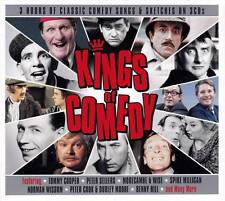 KINGS OF COMEDY - 3 HOURS OF CLASSIC COMEDY SONGS & SKETCHES (NEW SEALED 3CD)