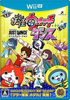 Brand new Nintendo Wii U Youkai Watch Dance JUST DANCE Special Version