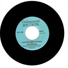 JONATHAN KING Everyone's Gone to the Moon/AL GARDNER LittleVG+(+) 45 RPM REISSUE