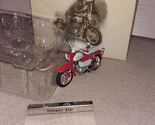 Simson Star DDR Motorrad Atlas 1:24 Originalgetreu Neu ohne Folie