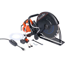 14in Circular Concrete Cut Off Saw Electric Cutter Wet Dry Masonry Paver Cut Saw