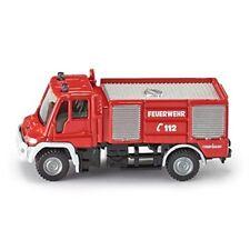 1:87 Siku Unimog Pompier - Feu 187 1068 Moteur Échelle Jouet Modèle Nouveau