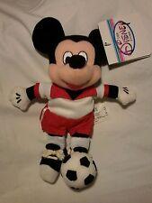 Disney Store Soccer Mickey Plush Bean Bag