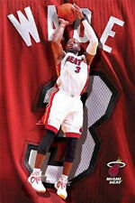 Dwyane Wade - NBA - Miami Heat - Basketball Poster