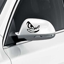 Teufel Eyes Face Auto Außenspiegel Aufkleber Geschenk Geburtstagsgeschenk