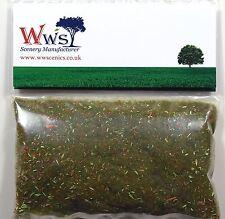 Modelo de la mezcla de la hoja del otoño 2mm WWS la hierba estática 30g