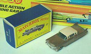Matchbox 27c Cadillac Sixty Special Mint in Very Near Mint Box