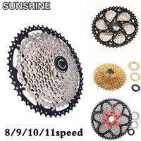 SUNSHINE 8/9/10/11 Speed MTB Bike Cassette Cycling Flywheel fits Shimano SRAM