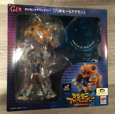 Megahouse GEM Series Yagami Taichi Agumon Digimon Figure New Unopened