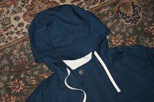 Brooks Brothers Red Fleece Blue Nylon Mountain Parka Jacket Coat Large L