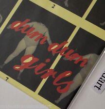 "THE DUM DUM GIRLS FIRST RECORD! LONGHAIR 7"" VINYL LIMITED 500 NM KRISTIN KONTROL"