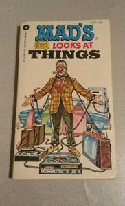 Mad's Dave Berg Looks at Things (Sept 1974, Warner Books, Paperback)